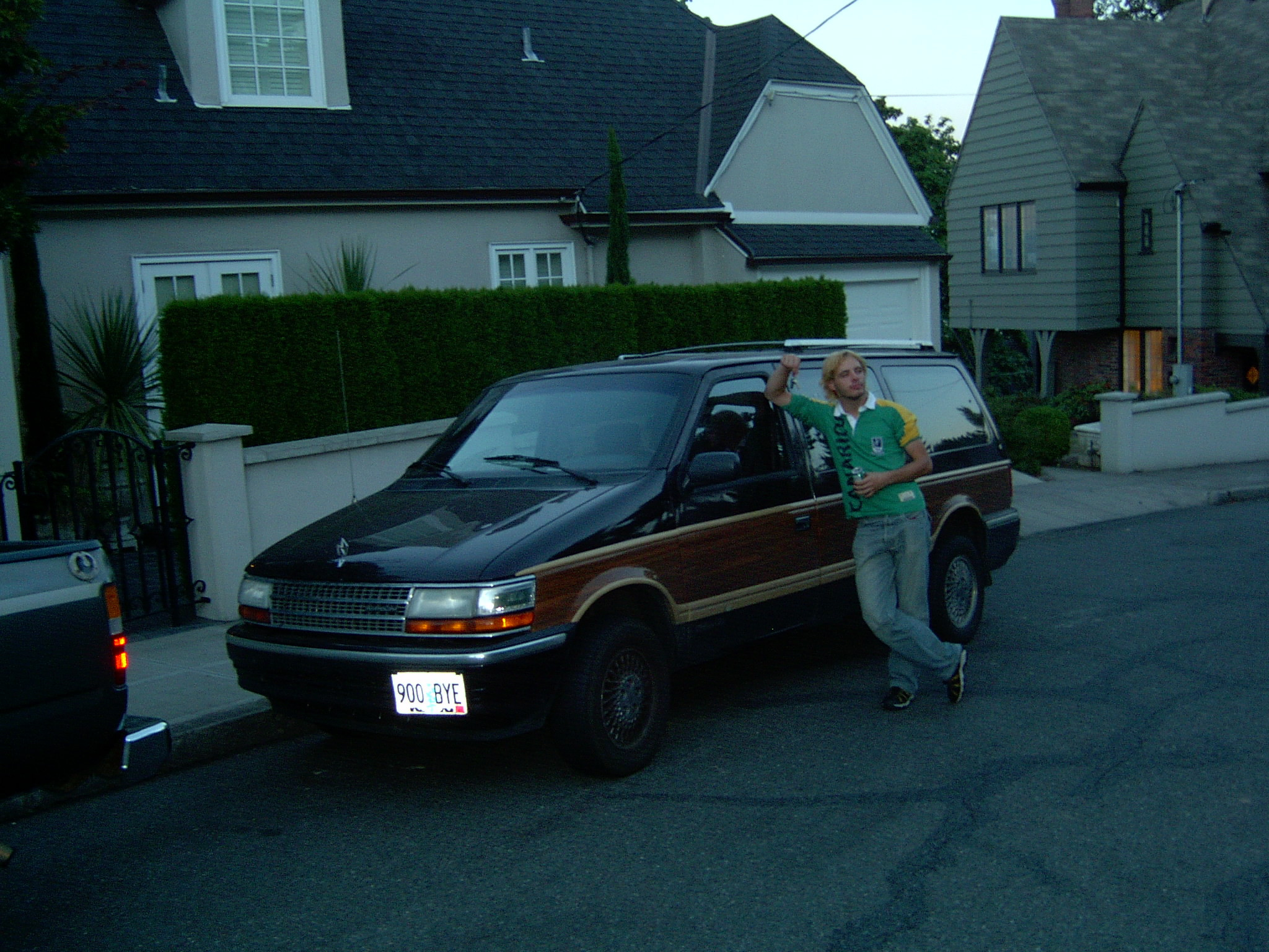 "Unser 1991 Plymouth Voyager (""geile Karre"")"